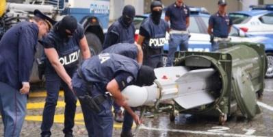 قطر تصدر الإرهاب الى إيطاليا والشرطة تضبط أسلحة متطورة