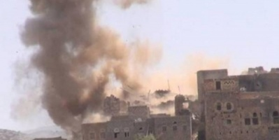 إصابة طفلين بمقذوف أطلقته ميليشيا الحوثي على قرية الغيل بالجوف