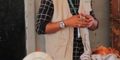 منظمة ادراء تنفذ التوزيع الرابع للمساعدات الغذائية وتستهدف 791 من ابناء مديرية حبيل الجبر