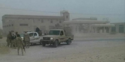 مفاوضات ب#شبـوة لسحب القوات الموالية للجنرال الاحمر من مركز المحافظة