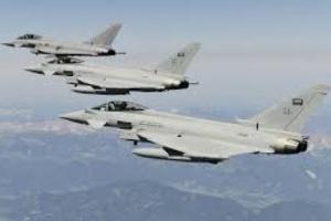 طيران التحالف يقصف مواقع تحت سيطرة الحوثيين في الحديدة