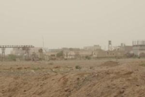 عشرات القذائف الحوثية تطال مواقع القوات المشتركة في الدريهمي
