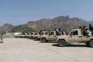 عاجل: تعزيزات عسكرية كبيرة في طريقها الى ابين