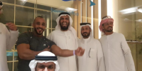 نائب الرئيس يلتقي انس اليافعي بعد قرار تعسفي بتوقيفه من قبل الرياضة اليمنية