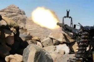 كسر هجوم حوثي على باب غلق شمال الضالع