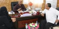 اللجنة الصحية للجمعية الوطنية تناقش أوجه التعاون مع صحة ساحل حضرموت