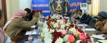 رئيس الجمعية الوطنية يلتقي قيادات من المقاومة الجنوبية بمحافظة أبين