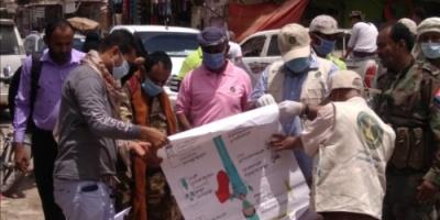 رئيس انتقالي لحج يدشن حملة التوعية من فيروس كورونا