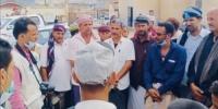 اتحاد طلاب ردفان - عدن يعزز الوعي المجتمعي حيال فيروس كورونا بحالمين