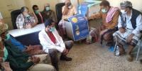 تدشين الحملة التوعوية للوقاية من انتشار فايروس كورونا في مديرية سباح
