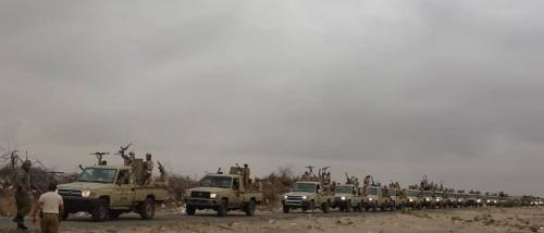 اللواء الثالث دعم وإسناد يستعرض قوته لتأمين العاصمة عدن