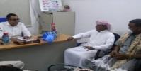 """إنتقالي تريم يتفقد احتياجات مستشفى المديرية لمواجهة فيروس """"كورونا"""""""