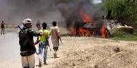 المقاومة الجنوبية تمكنت من تدمير دبابة وعدد من الاطقم في المنطقة الوسطى بابين