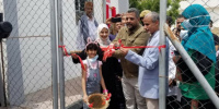 المحامية نيران سوقي تشارك في افتتاح المستشفى الميداني للحميات بالمعلا