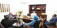 """حُميد يبحث مع البرنامج """"الإنمائي"""" مشاريع النهوض بقطاع النقل"""