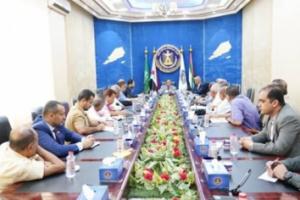 الخبجي يترأس اجتماعا للجنة الاقتصادية العُليا بالمجلس الانتقالي الجنوبي