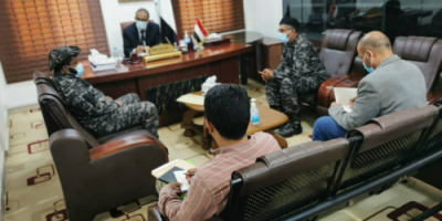 وزير الصحة يستقبل قائد قوات حماية المنشآت الحكومية