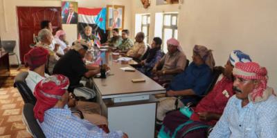 الثقلي يترأس اجتماعاً للجنة والعسكرية بمحافظة سقطرى