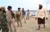"""قائد قوات الدعم والإسناد يزور جزيرة""""ميون""""ويطلع على وضعها الأمني"""