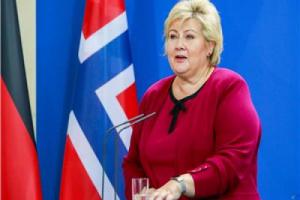 تغريم رئيسة وزراء النرويج 20 ألف كرونة لعدم التزامها بإجراءات التباعد الإجتماعي