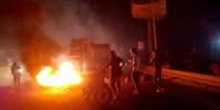احتجاجات في تبن على انقطاع الكهرباء وتعطيل الخدمات