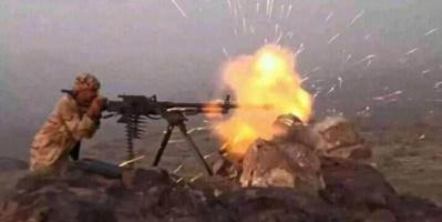في معركة ضارية.. التصدي لهجوم حوثي على بتار