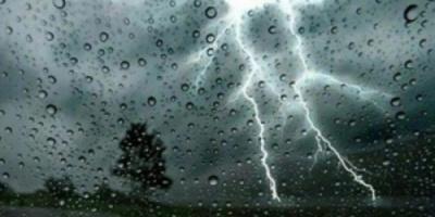 تواصل اضطراب الطقس مع أمطار متفاوتة الشدة