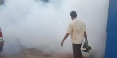 سلمان للإغاثة يواصل حملة الرش الضبابي بالعاصمة عدن