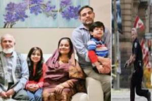 دهس عائلة مسلمة حتى الموت بشاحنه على يد عنصري كندي ورئيس الوزراء يتوعد