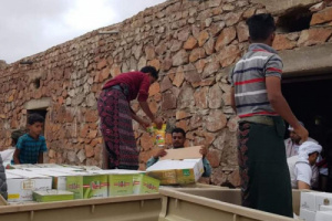 خليفة الإنسانية تتحدى الجغرافيا لإغاثة سكان عسروتي