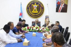 الجعدي يدعو اللجان المجتمعية إلى العمل مع السلطة المحلية في العاصمة عدن