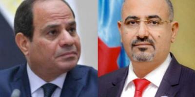 الرئيس عيدروس الزُبيدي يُعزّي الرئيس السيسي في وفاة المشير طنطاوي