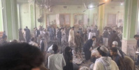 ارتفاع عدد ضحايا حادثة تفجير مسجد في قندهار إلى 150 بين قتيل وجريح