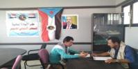 غانم يلتقي برئيس انتقالي كرش لمناقشة أنشطة وفعالية المجلس